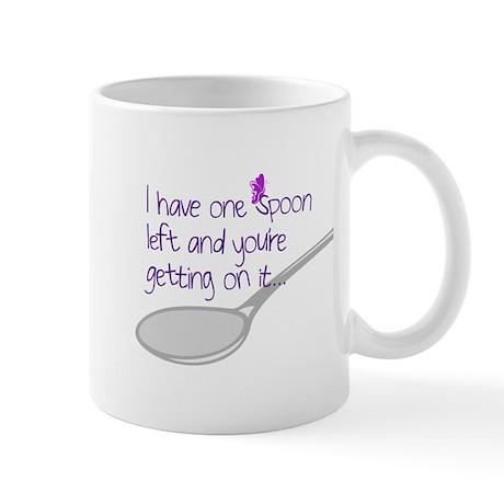 One Spoon Left Mug