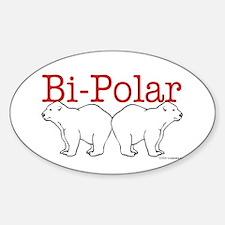Bi-Polar Oval Decal