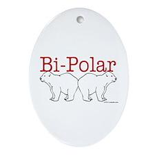 Bi-Polar Oval Ornament