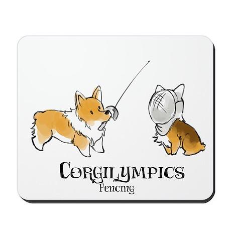 Corgilympics - Fencing Mousepad