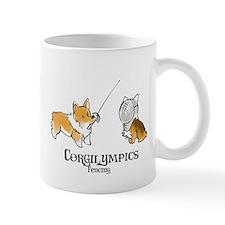 Corgilympics - Fencing Mug