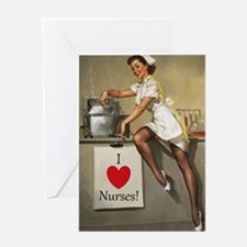 Nifty Nurse Greeting Card