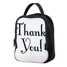 Thank You Neoprene Lunch Bag