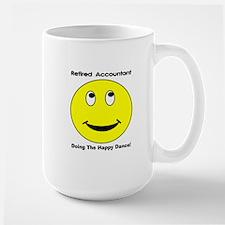 Retired Accountant happy dance Mug