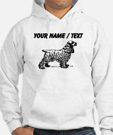 Custom Cocker Spaniel Sketch Jumper Hoody