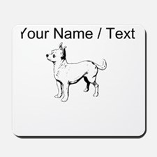 Custom Chihuahua Sketch Mousepad