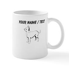 Custom Chihuahua Sketch Small Mug