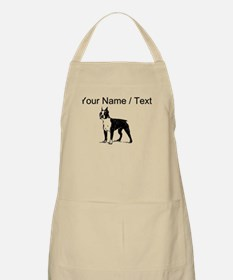 Custom Boston Terrier Sketch Apron