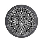ANCIENT MAYAN SERIES: Wall Clock
