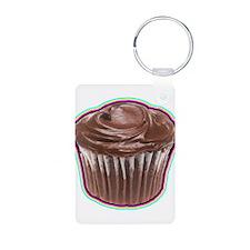 Cupcake - Chocolate - Bakery - Treat - Food Keycha