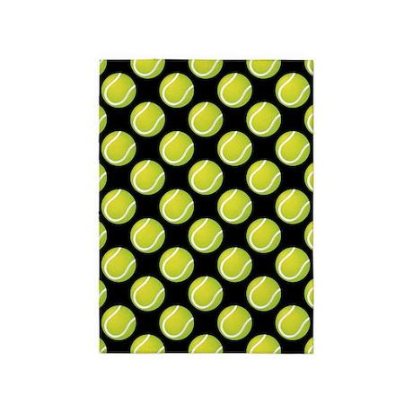 Tennis Balls 5'x7'Area Rug