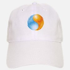 Fire and Ice - Yin Yang - Balance Baseball Baseball Baseball Cap