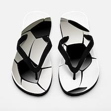 Soccer - Football - Sports - Athlete Flip Flops
