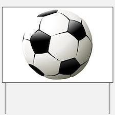 Soccer - Football - Sports - Athlete Yard Sign