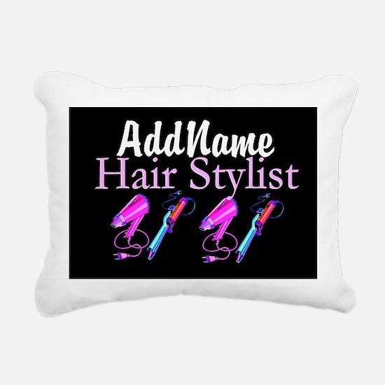 SNAZZY HAIR STYLIST Rectangular Canvas Pillow