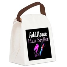 SNAZZY HAIR STYLIST Canvas Lunch Bag