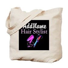 SNAZZY HAIR STYLIST Tote Bag