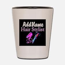 SNAZZY HAIR STYLIST Shot Glass