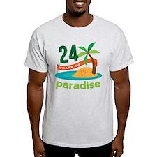 24th Wedding Anniversary T-Shirt