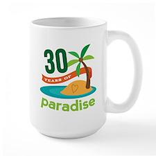 30th Anniversary (Paradise) Mug