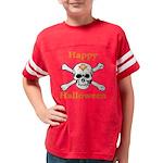 HALLOWEESKULL copy Youth Football Shirt