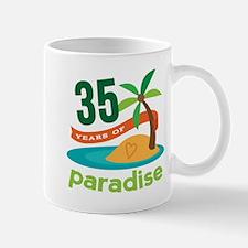 35th Anniversary (Tropical) Mug