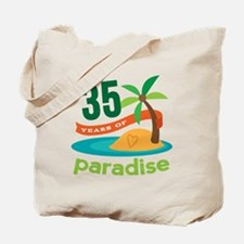 35th Anniversary (Tropical) Tote Bag