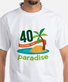 40th Anniversary (Tropical) Shirt