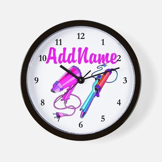 FABULOUS HAIR Wall Clock