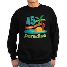 45th Anniversary (tropical) Sweatshirt