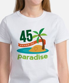 45th Anniversary (tropical) Women's T-Shirt