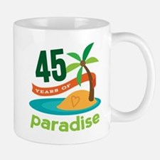 45th Anniversary (tropical) Mug
