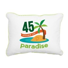45th Anniversary (tropical) Rectangular Canvas Pil
