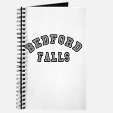 Bedford Falls Grey Lettering Journal