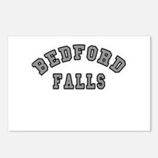 Bedford Falls Grey Lettering Postcards (Package of