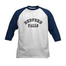 Bedford Falls Grey Lettering Tee