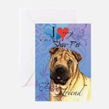 Shar-Pei Greeting Cards (Pk of 10)