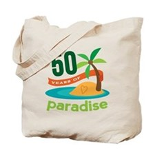 50th Anniversary paradise Tote Bag