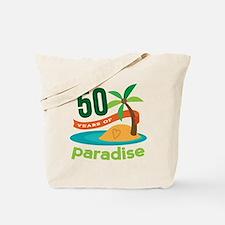50th Anniversary paradise Tote Bag
