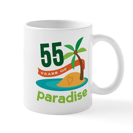 55th Anniversary paradise Mug