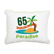 65th Anniversary (tropical) Rectangular Canvas Pil