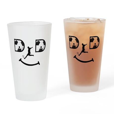 Dad-SOCCER Drinking Glass