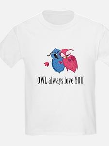 Romantic Owls T-Shirt