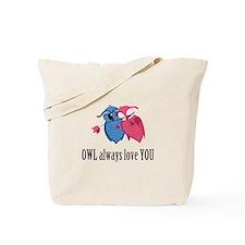 Romantic Owls Tote Bag
