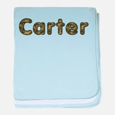 Carter Army baby blanket