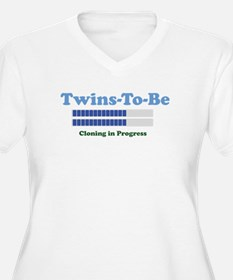 Twins To Be Light Plus Size T-Shirt
