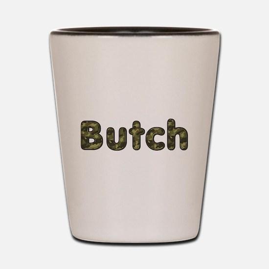 Butch Army Shot Glass