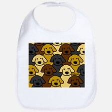 Dogs Marching Bib