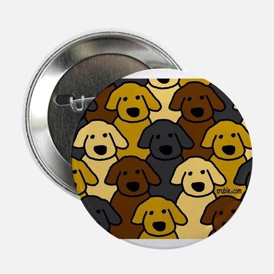 Dogs Marching Button