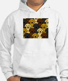 Dogs Marching Hoodie